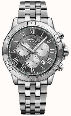 Raymond Weil Mens Tango Grey Chronograph 8560-ST-00606