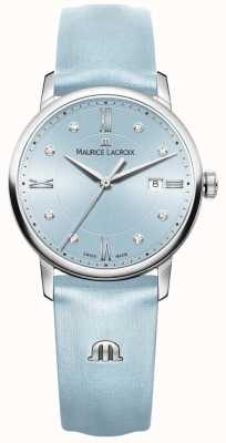 Maurice Lacroix Womans Eliros Eight Diamonds Blue EL1094-SS001-550-1