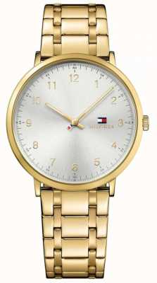 Tommy Hilfiger Mens James PVD Gold Plated Watch 1791337