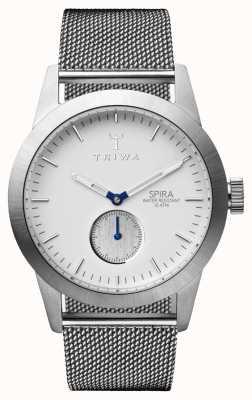 Triwa Mens Ivory Spira Steel Mesh SPST102-ME021212