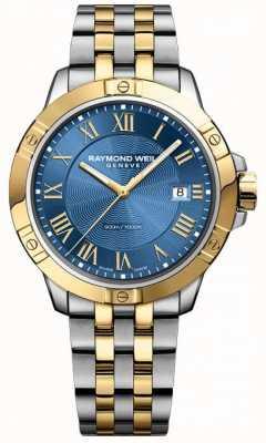 Raymond Weil Mens Tango Two Tone Blue 8160-STP-00508