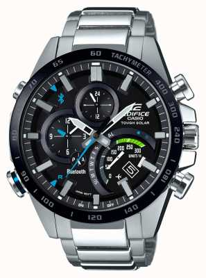 Casio Edifice Bluetooth Mens Tough Solar Racer EX-DISPLAY EQB-501XDB-1AMEREX-DISPLAY