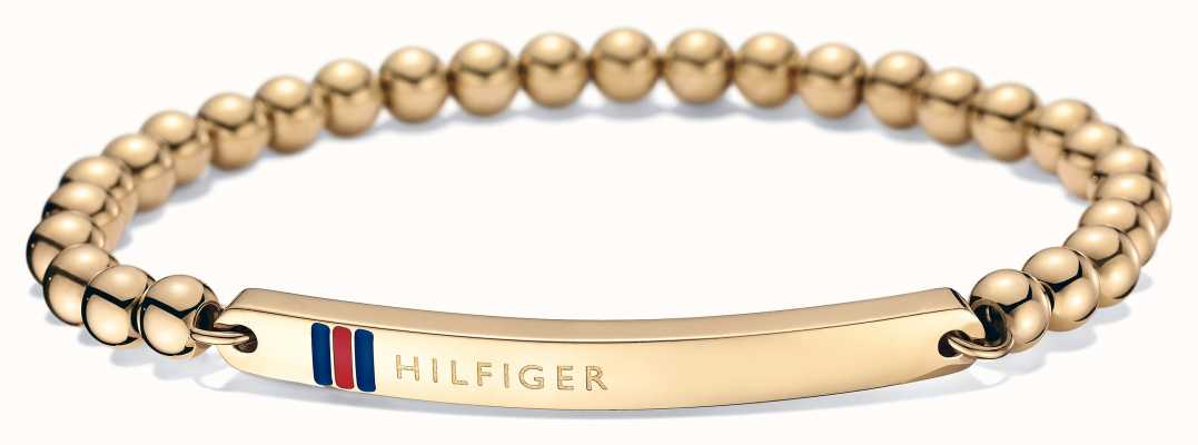 Tommy Hilfiger Womens Gold Plated ID Bracelet 2700787