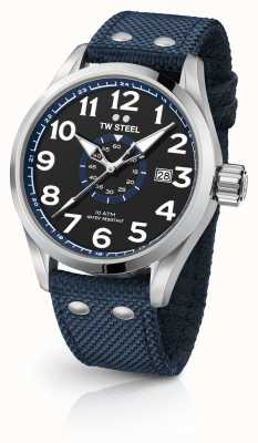 TW Steel Mens Volante Blue 48mm VS32