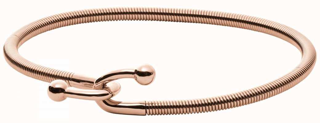 Skagen Womens Anette Rose Gold Plated Bangle SKJ0981791