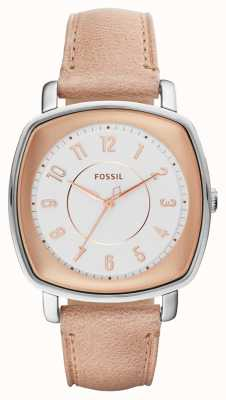 Fossil Womans Idealist Beige Leather ES4196