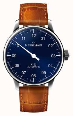 MeisterSinger Men's Classic No. 3 Automatic Sunburst Blue AM908