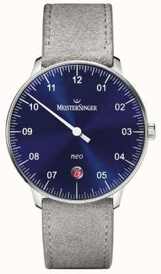 MeisterSinger Men's Form And Style Neo Automatic Sunburst Blue NE908N