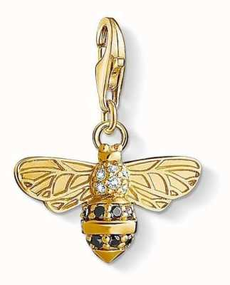 Thomas Sabo Gold Plated Sterling Silver Bee 1449-414-39