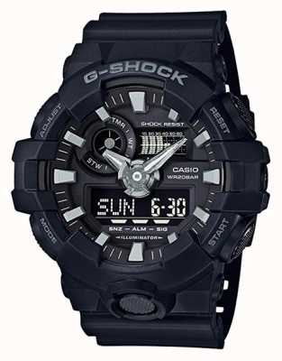 Casio Mens G-shock Navy Alarm Chronograph GA-700-1BER