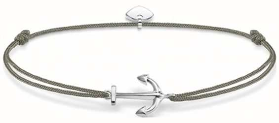 Thomas Sabo Sterling Silver Glam And Soul Little Secrets Anchor LS001-173-5-L20V