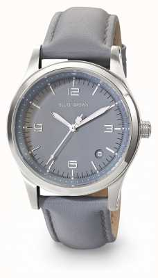 Elliot Brown Womans Kimmeridge Grey Dark Grey Leather Strap 405-004-L56