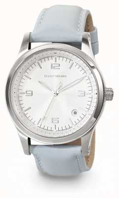 Elliot Brown Womans Kimmeridge  ice-blue leather watch 405-002-L55