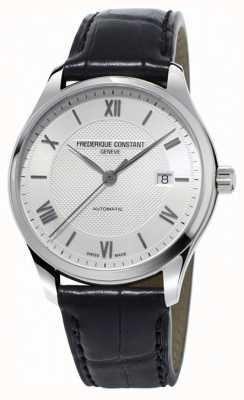Frederique Constant Mens Classics Index Automatic Black Leather Strap FC-303MS5B6