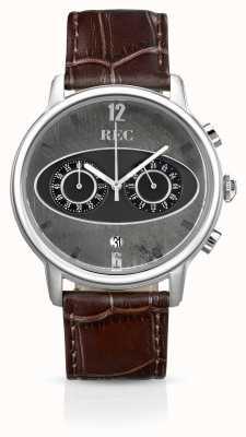 REC Mark 1 M1 Chronograph Brown Leather Strap M1