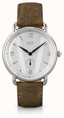 REC Cooper C2 Brown Calf Skin Leather Strap C2