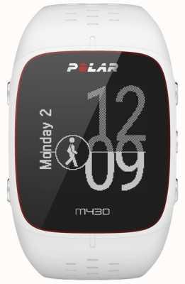 Polar M430 White Rubber Sports Watch 90064407