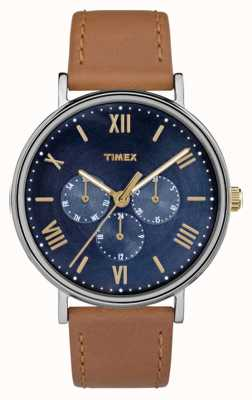 Timex Mens Southview Multifunction Chronograph Brown TW2R29100