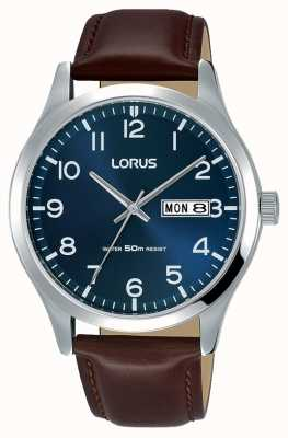 Lorus Mens Urban Dress Classic Brown Leather Strap RXN49DX9