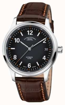 Muhle Glashutte Mens Lunova Datum Automatic Brown Leather M1-43-16-LB