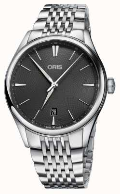 Oris Artelier Date Automatic Stainless Steel Grey Dial 01 733 7721 4053-07 8 21 79