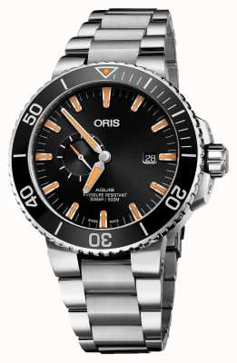 Oris Aquis Date Automatic Stainless Steel Black Dial 01 743 7733 4159-07 8 24 05PEB