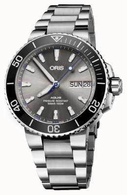 Oris Aquis Hammerhead Limited Edition Date Automatic Stainless 01 752 7733 4183-SET MB