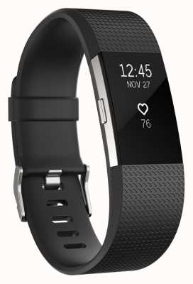 Fitbit Charge 2 - Black, Large FB407SBKL-EU