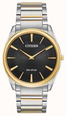 Citizen   Men's   Stiletto Ultra-Thin   Two Tone Bracelet   AR3074-54E