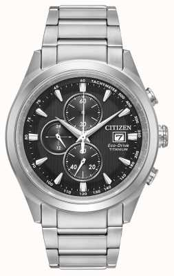 Citizen Mens Eco-drive Titanium Chronograph CA0650-58E