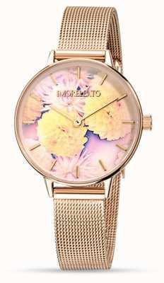 Morellato Womens Ninfa Rose Gold Mesh Watch R0153141502