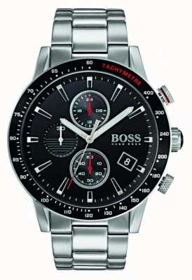 Hugo Boss Mens Rafale Chronograph Black Dial 1513509