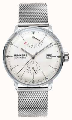 Junkers Mens Bauhaus Auto Steel Mesh Watch 6060M-5