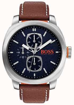 Hugo Boss Orange Mens Capetown Watch Blue Dial 1550027