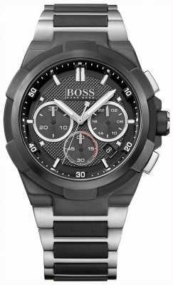 Hugo Boss Mens Supernova Chronograph Black Dial 1513368