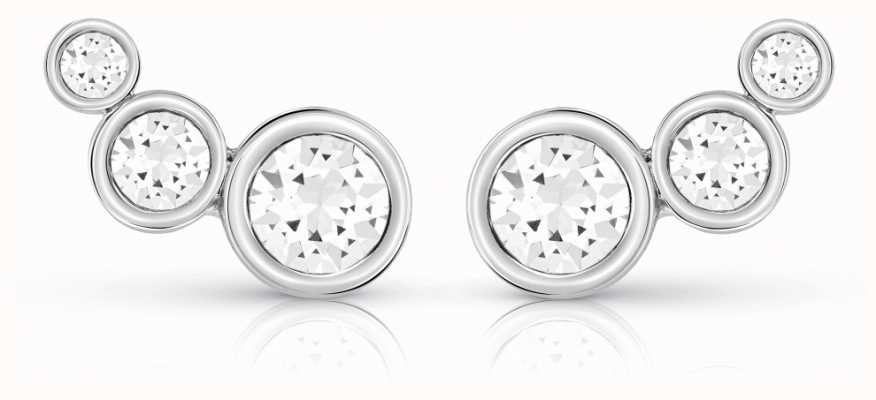 Guess Crystal Beauty Studs Rhodium UBE84124