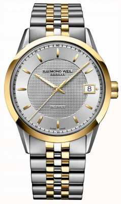 Raymond Weil Mens Freelancer Automatic Two Tone Bracelet 2740-STP-65021