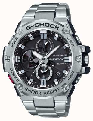 Casio G-Steel Bluetooth Triple Connect Mens Chronograph GST-B100D-1AER