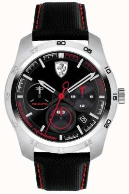 Scuderia Ferrari Primato Black And Red Dial 0830444