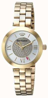 Juicy Couture Womans Victoria Watch Gold Tone 1901625