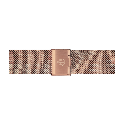 Paul Hewitt Rose Gold Stainless Steel Mesh Bracelet 176mm PH-M1-R-4S