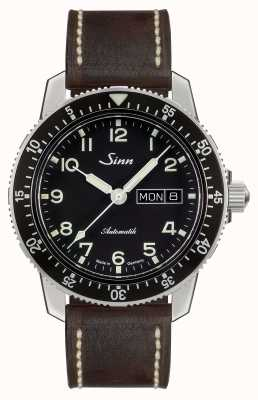 Sinn 104 St Sa A Classic Pilot Watch Dark Brown Vintage Leather 104.011 BROWN VINTAGE LEATHER