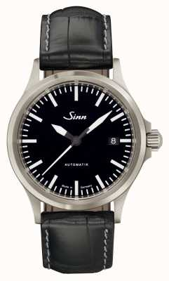 Sinn 556 I Sports Sapphire Glass Black Alligator Embossed Leather 556.010