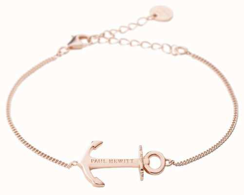 Paul Hewitt Anchor Spirit Rose Gold Bracelet PH-AB-R