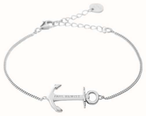 Paul Hewitt Jewellery Anchor Spirit Silver Bracelet PH-AB-S