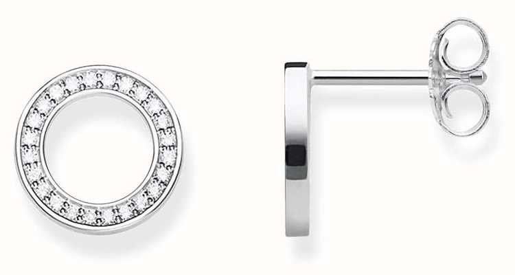 Thomas Sabo Sterling Silver Circle Studs H1947-051-14