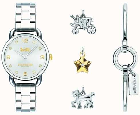 Coach Womans Delancey Bangle Watch 14000055