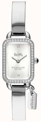 Coach Woman's Ludlow Silver Rectangle Dial 14502823