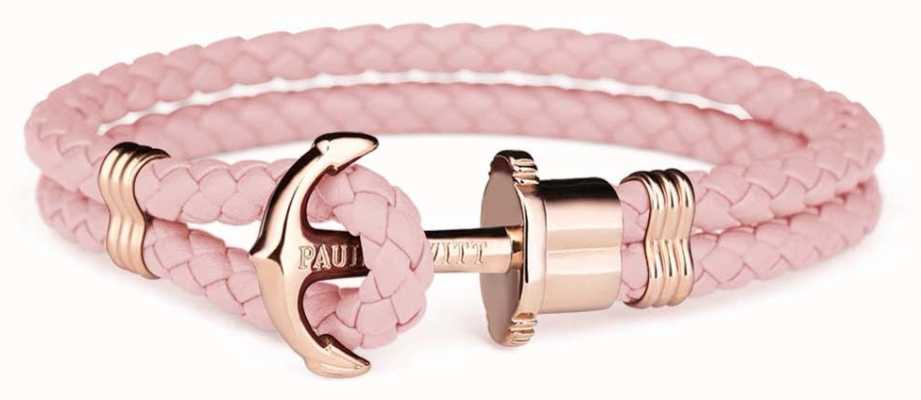 Paul Hewitt Jewellery Phrep Rose Gold Anchor Aurora Leather PH-PH-L-R-A-M