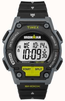 Timex Mens Endure Shock 30 LP Black And Lime TW5M13800D7PF